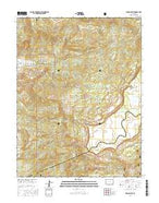 Indian Point Colorado Current topographic map, 1:24000 scale, 7.5 X 7.5 Minute, Year 2016 from Colorado Map Store