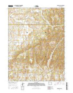 Indian Valley Colorado Current topographic map, 1:24000 scale, 7.5 X 7.5 Minute, Year 2016 from Colorado Map Store