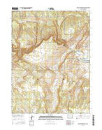 Indian Water Canyon Colorado Current topographic map, 1:24000 scale, 7.5 X 7.5 Minute, Year 2016 from Colorado Map Store