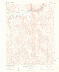 Iola Colorado Historical topographic map, 1:24000 scale, 7.5 X 7.5 Minute, Year 1954