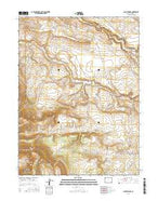 Jack Springs Colorado Current topographic map, 1:24000 scale, 7.5 X 7.5 Minute, Year 2016 from Colorado Map Store
