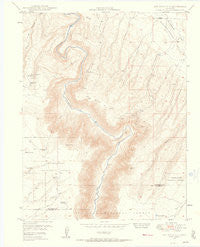 Joe Davis Hill Colorado Historical topographic map, 1:24000 scale, 7.5 X 7.5 Minute, Year 1949