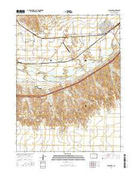 Julesburg Colorado Current topographic map, 1:24000 scale, 7.5 X 7.5 Minute, Year 2016