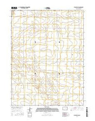 Julesburg SW Colorado Current topographic map, 1:24000 scale, 7.5 X 7.5 Minute, Year 2016