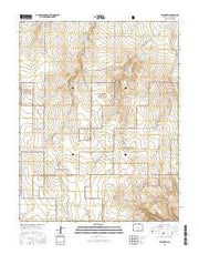 Kim North Colorado Current topographic map, 1:24000 scale, 7.5 X 7.5 Minute, Year 2016 from Colorado Maps Store