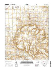 Kim South Colorado Current topographic map, 1:24000 scale, 7.5 X 7.5 Minute, Year 2016 from Colorado Maps Store