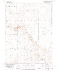 Kirchnavy Butte Colorado Historical topographic map, 1:24000 scale, 7.5 X 7.5 Minute, Year 1978