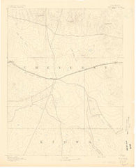 Kit Carson Colorado Historical topographic map, 1:125000 scale, 30 X 30 Minute, Year 1891