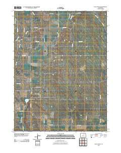 Klug Ranch Colorado Historical topographic map, 1:24000 scale, 7.5 X 7.5 Minute, Year 2010