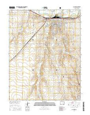 La Junta Colorado Current topographic map, 1:24000 scale, 7.5 X 7.5 Minute, Year 2016 from Colorado Maps Store