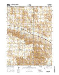 Laird Colorado Current topographic map, 1:24000 scale, 7.5 X 7.5 Minute, Year 2016