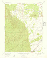 Larkspur Colorado Historical topographic map, 1:24000 scale, 7.5 X 7.5 Minute, Year 1954