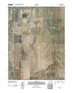 Leader SE Colorado Historical topographic map, 1:24000 scale, 7.5 X 7.5 Minute, Year 2010