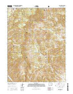 Lime Creek Colorado Current topographic map, 1:24000 scale, 7.5 X 7.5 Minute, Year 2016 from Colorado Map Store