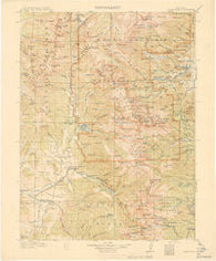 Longs Peak Colorado Historical topographic map, 1:125000 scale, 30 X 30 Minute, Year 1915