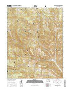 Lookout Mountain Colorado Current topographic map, 1:24000 scale, 7.5 X 7.5 Minute, Year 2016 from Colorado Map Store