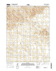 Marks Butte Colorado Current topographic map, 1:24000 scale, 7.5 X 7.5 Minute, Year 2016