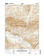 Maybell Colorado Current topographic map, 1:24000 scale, 7.5 X 7.5 Minute, Year 2016 from Colorado Map Store
