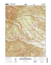 Maysville Colorado Current topographic map, 1:24000 scale, 7.5 X 7.5 Minute, Year 2016 from Colorado Maps Store