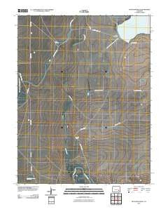 McIntosh Ranch Colorado Historical topographic map, 1:24000 scale, 7.5 X 7.5 Minute, Year 2010