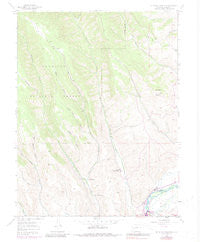 Mc Intosh Mountain Colorado Historical topographic map, 1:24000 scale, 7.5 X 7.5 Minute, Year 1954