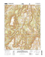 Mesa Mountain Colorado Current topographic map, 1:24000 scale, 7.5 X 7.5 Minute, Year 2016 from Colorado Map Store