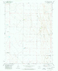 Metz Springs Colorado Historical topographic map, 1:24000 scale, 7.5 X 7.5 Minute, Year 1978