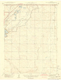 Mile High Lakes Colorado Historical topographic map, 1:31680 scale, 7.5 X 7.5 Minute, Year 1942