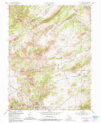 Mount Tyndall Colorado Historical topographic map, 1:24000 scale, 7.5 X 7.5 Minute, Year 1954