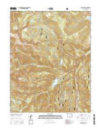 Mount Hope Colorado Current topographic map, 1:24000 scale, 7.5 X 7.5 Minute, Year 2016 from Colorado Map Store
