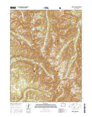 Mount Jackson Colorado Current topographic map, 1:24000 scale, 7.5 X 7.5 Minute, Year 2016 from Colorado Maps Store