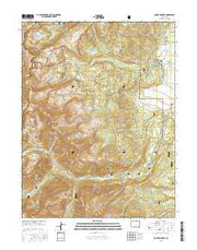 Mount Massive Colorado Current topographic map, 1:24000 scale, 7.5 X 7.5 Minute, Year 2016 from Colorado Maps Store