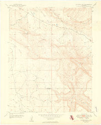 Naturita NW Colorado Historical topographic map, 1:24000 scale, 7.5 X 7.5 Minute, Year 1949