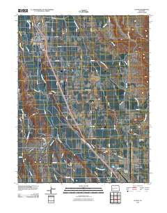 Olathe Colorado Historical topographic map, 1:24000 scale, 7.5 X 7.5 Minute, Year 2010