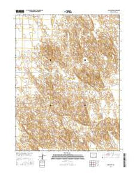 Old Baldy Colorado Current topographic map, 1:24000 scale, 7.5 X 7.5 Minute, Year 2016
