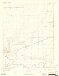 Olney Springs Colorado Historical topographic map, 1:24000 scale, 7.5 X 7.5 Minute, Year 1954