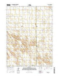 Otis SE Colorado Current topographic map, 1:24000 scale, 7.5 X 7.5 Minute, Year 2016