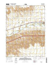 Ovid Colorado Current topographic map, 1:24000 scale, 7.5 X 7.5 Minute, Year 2016