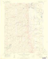 Palmer Lake Colorado Historical topographic map, 1:24000 scale, 7.5 X 7.5 Minute, Year 1954