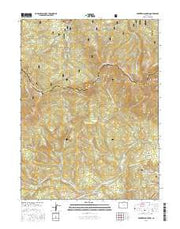 Parkview Mountain Colorado Current topographic map, 1:24000 scale, 7.5 X 7.5 Minute, Year 2016 from Colorado Maps Store