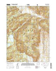 Pearl Colorado Current topographic map, 1:24000 scale, 7.5 X 7.5 Minute, Year 2016 from Colorado Maps Store