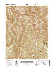 Pearl Pass Colorado Current topographic map, 1:24000 scale, 7.5 X 7.5 Minute, Year 2016 from Colorado Maps Store