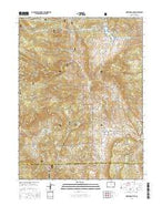 Pinewood Lake Colorado Current topographic map, 1:24000 scale, 7.5 X 7.5 Minute, Year 2016 from Colorado Map Store