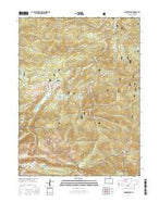 Pingree Park Colorado Current topographic map, 1:24000 scale, 7.5 X 7.5 Minute, Year 2016 from Colorado Map Store
