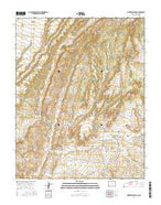 Pinkerton Mesa Colorado Current topographic map, 1:24000 scale, 7.5 X 7.5 Minute, Year 2016 from Colorado Map Store