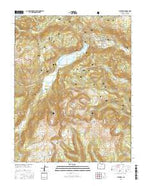 Platoro Colorado Current topographic map, 1:24000 scale, 7.5 X 7.5 Minute, Year 2016 from Colorado Map Store