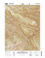 Platte Canyon Colorado Current topographic map, 1:24000 scale, 7.5 X 7.5 Minute, Year 2016 from Colorado Map Store