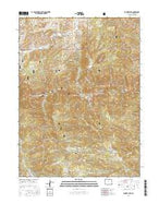 Poudre Park Colorado Current topographic map, 1:24000 scale, 7.5 X 7.5 Minute, Year 2016 from Colorado Map Store