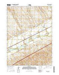 Proctor Colorado Current topographic map, 1:24000 scale, 7.5 X 7.5 Minute, Year 2016
