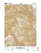 Ralston Buttes Colorado Current topographic map, 1:24000 scale, 7.5 X 7.5 Minute, Year 2016 from Colorado Map Store